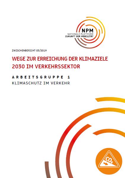 Wege zur Erreichung der Klimaziele 2030 im Verkehrssektor