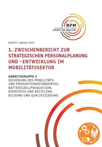 1. Zwischenbericht zur strategischen Personalplanung und -Entwicklung im Mobilitätssektor